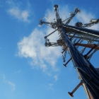 Upward View of Cell Tower 2