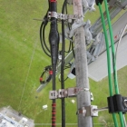 Cable Mounted Along Piping