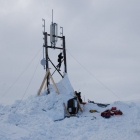 Cell Site Covered in Snow