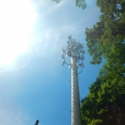 Cell Tower Monopole