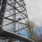 Bottom Half of Lattice Tower