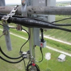 Cables Installed on Antenna