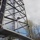 Bottom Half of Lattice Tower